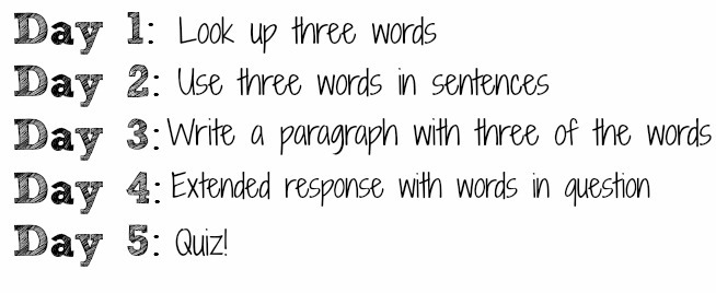 New Vocabulary Word Group Strategy Pencils And Pancakes