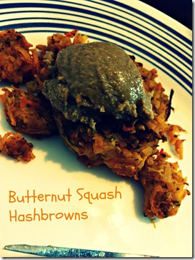 Butternut Squash Hashbrowns