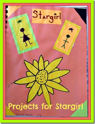 End of book projects for the book Stargirl